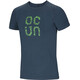 Ocun Bamboo Gear T-Shirt Men Slate Blue